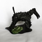 Kerry Blue Terrier - the paper dog
