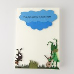 Ant and the Grasshopper - cover illustration